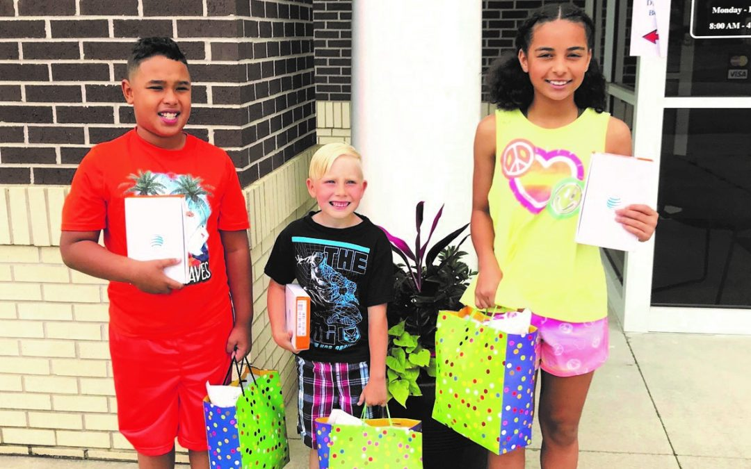 Poplar Bluff Housing Authority Poster Contest Winners Named